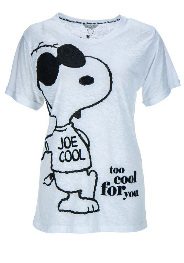 """T-Shirt Snoopy """"Too cool for you"""""""