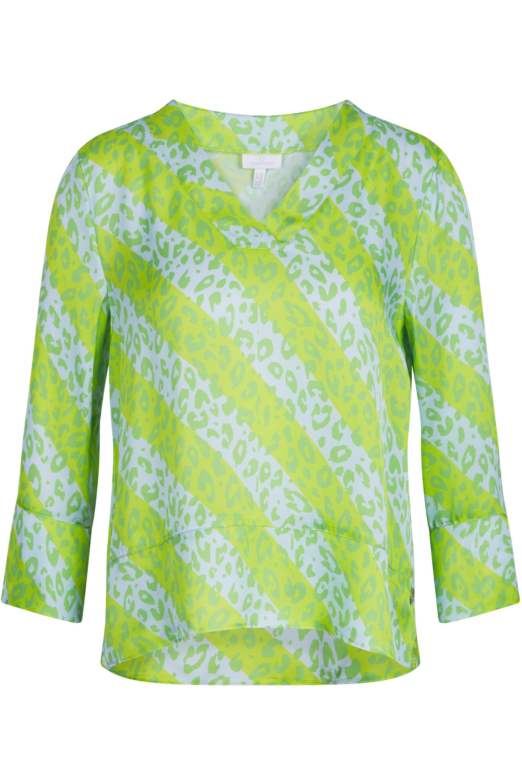 Mallory Print - Lime - Bluse - Sportalm